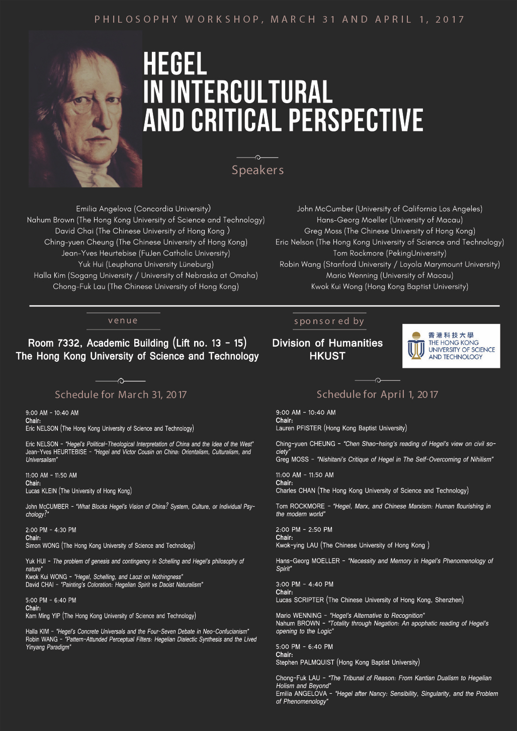 Conference: Hegel in Intercul Tural and Critical Perspective