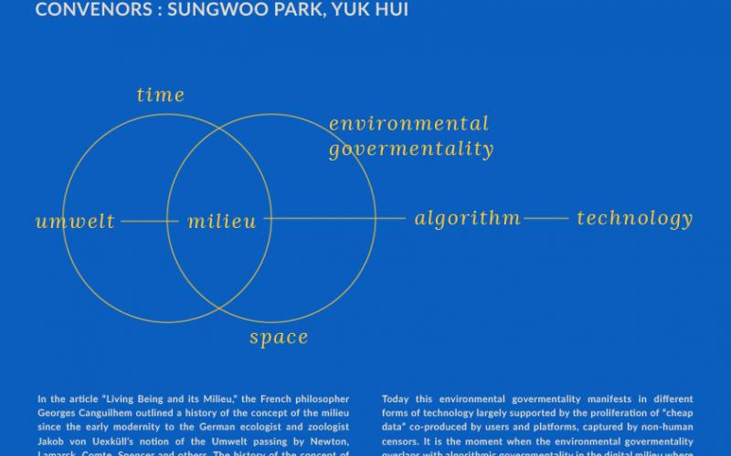 工作坊 (5月9-10日 / 首爾): Politics of Milieu Today